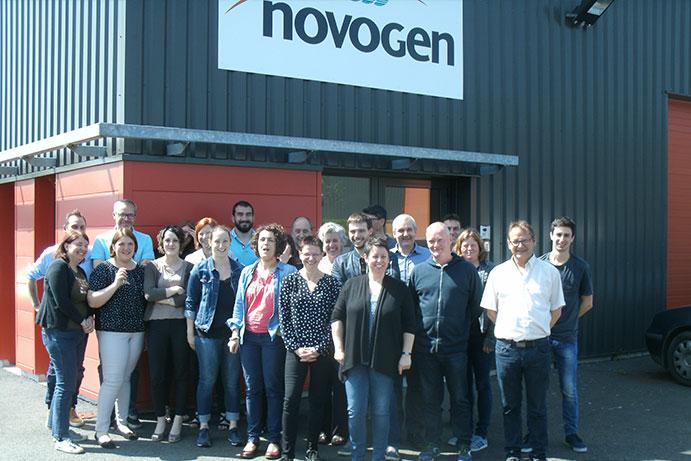 Toute l'équipe Novogen